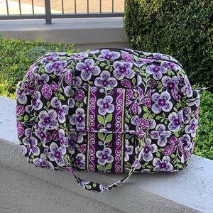 Vera Bradley Floral Diaper Bag